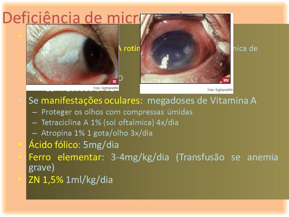 Deficiência de micronutrientes