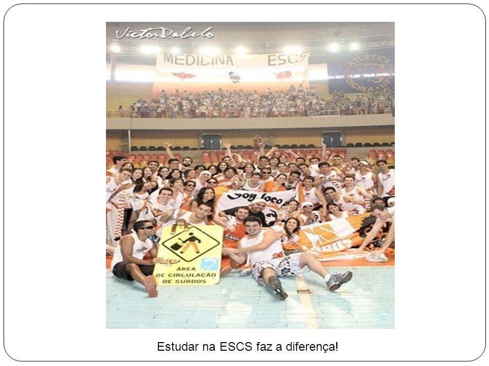 Estudar na ESCS faz a diferença!