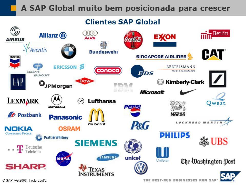 A SAP Global muito bem posicionada para crescer