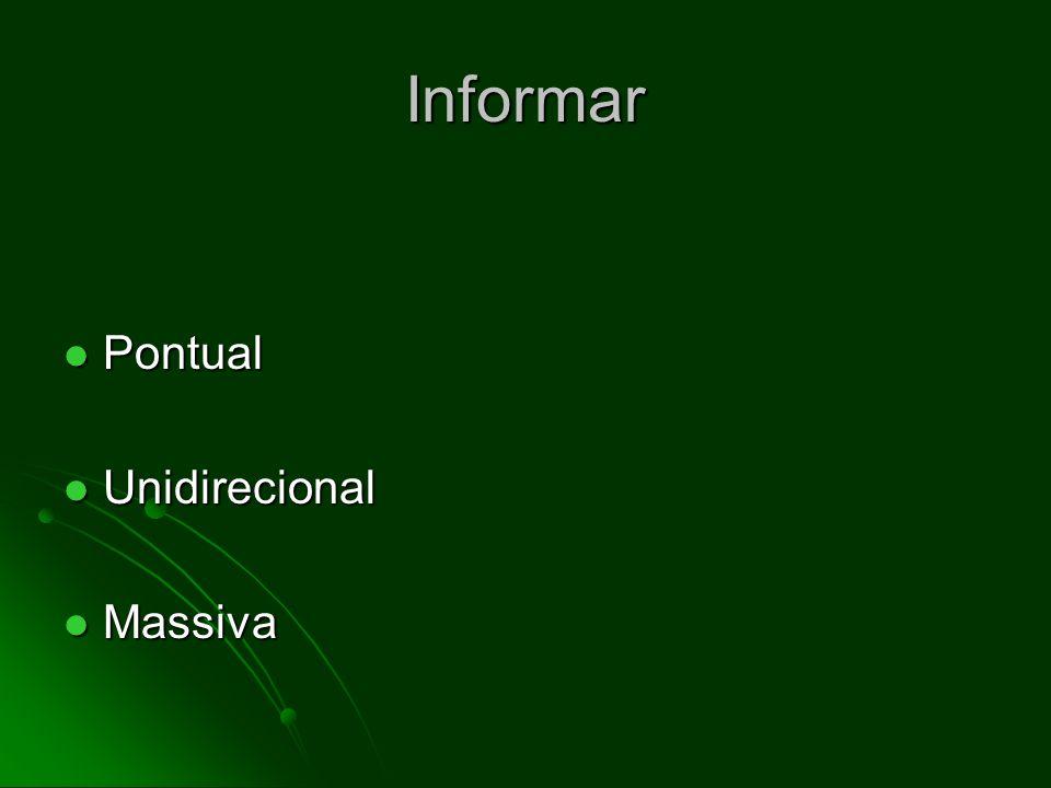 Informar Pontual Unidirecional Massiva