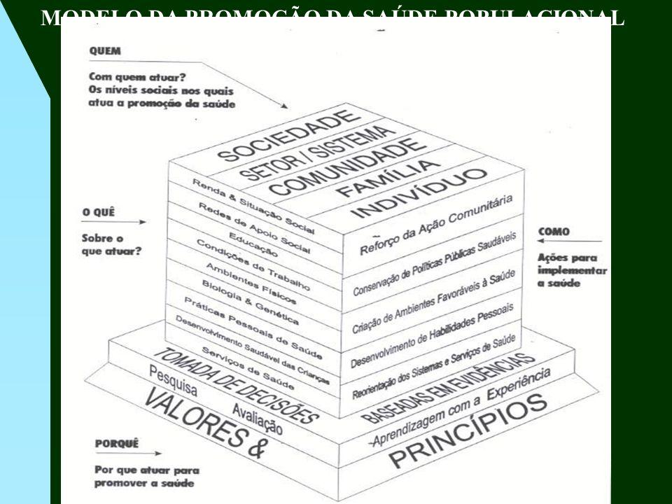 MODELO DA PROMOÇÃO DA SAÚDE POPULACIONAL