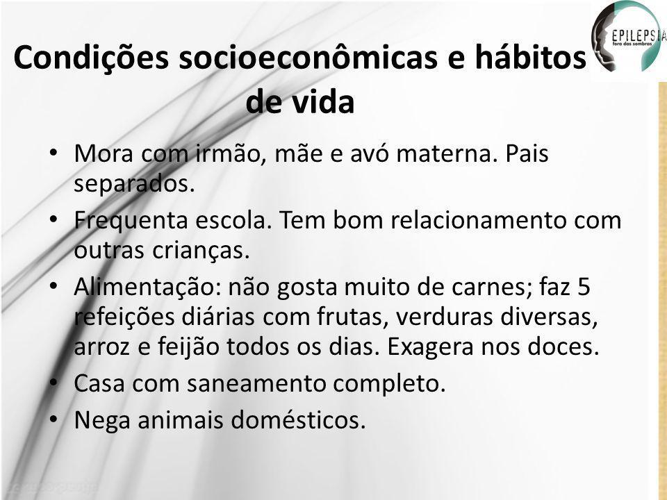 Condições socioeconômicas e hábitos de vida