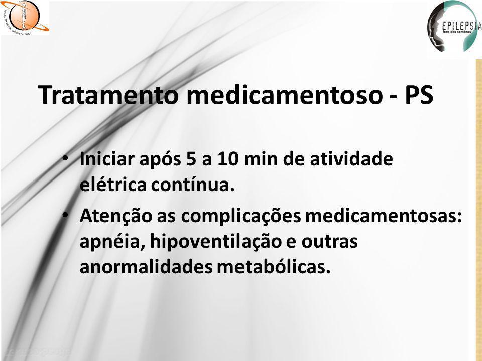 Tratamento medicamentoso - PS