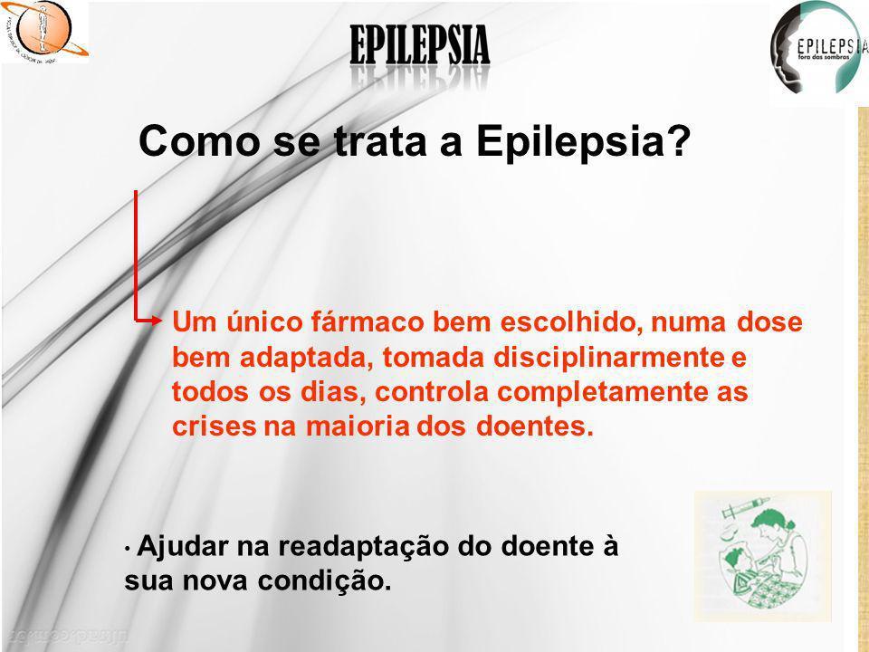 Como se trata a Epilepsia