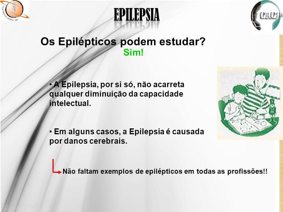 Os Epilépticos podem estudar