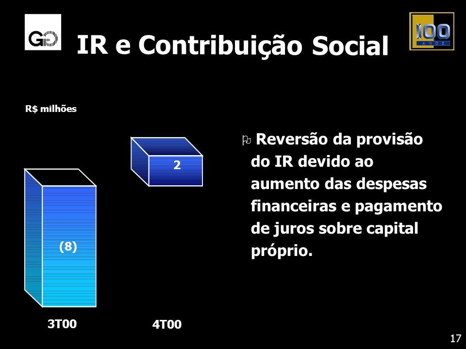 IR e Contribuição Social