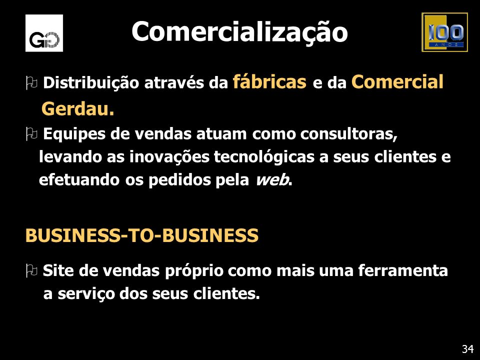 Comercialização BUSINESS-TO-BUSINESS