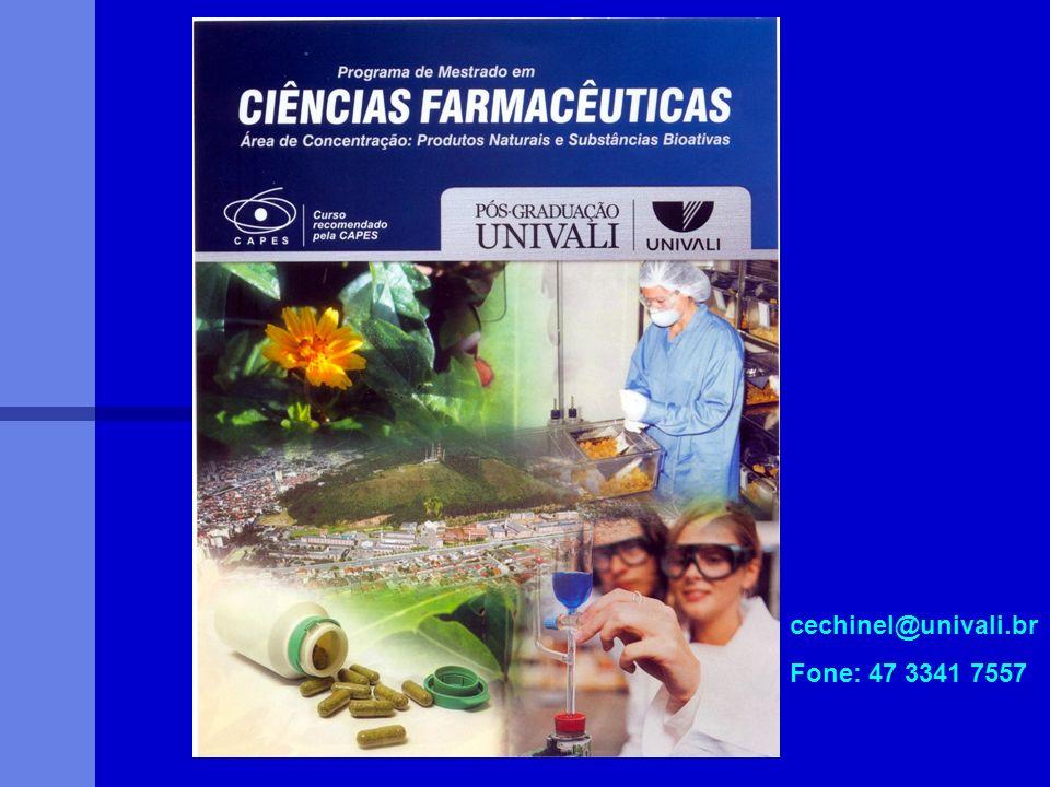 cechinel@univali.br Fone: 47 3341 7557