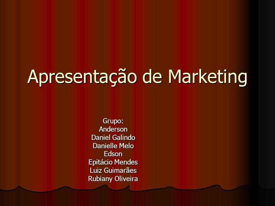 Apresentação de Marketing