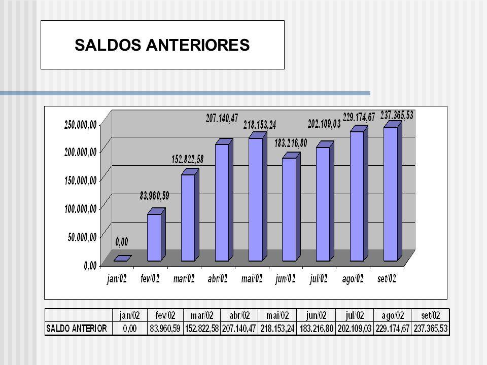 SALDOS ANTERIORES