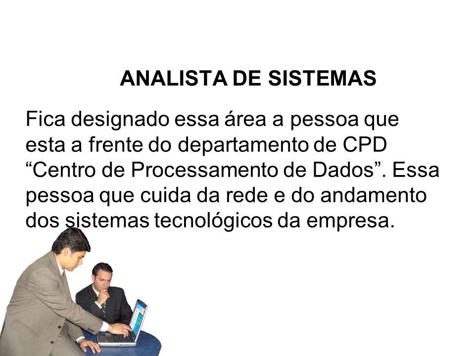 ANALISTA DE SISTEMAS
