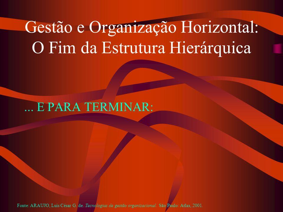 Gestão e Organização Horizontal: O Fim da Estrutura Hierárquica