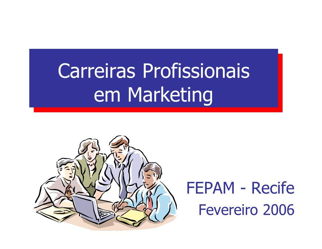 Carreiras Profissionais em Marketing
