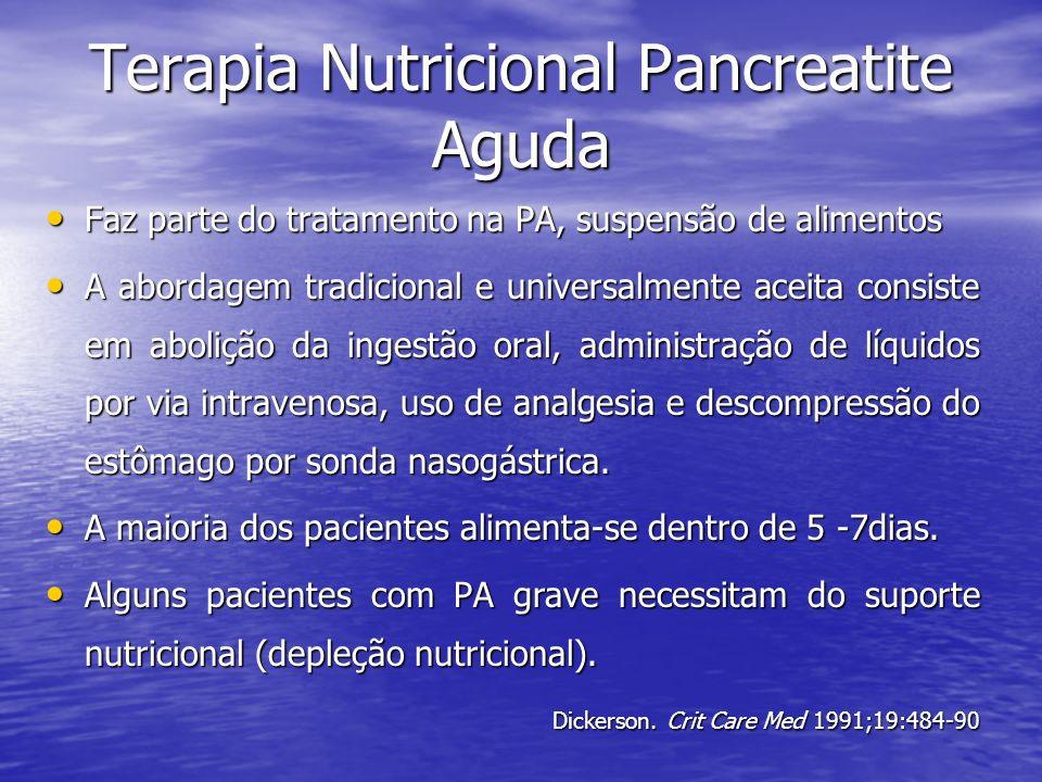 Terapia Nutricional Pancreatite Aguda