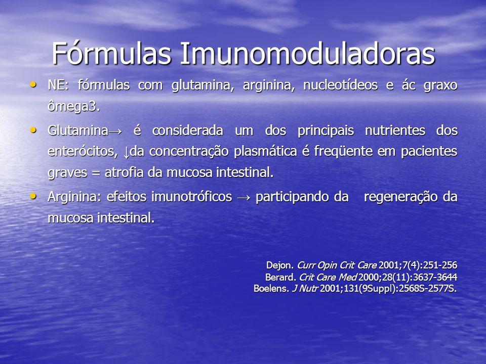 Fórmulas Imunomoduladoras