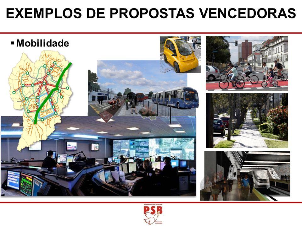 EXEMPLOS DE PROPOSTAS VENCEDORAS