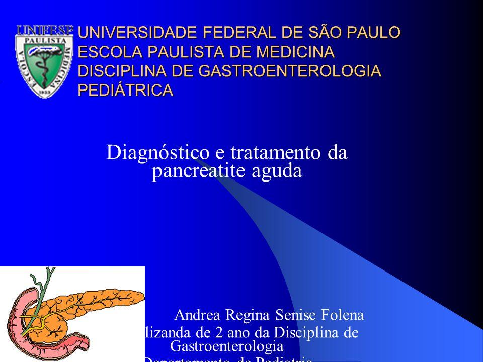 Diagnóstico e tratamento da pancreatite aguda