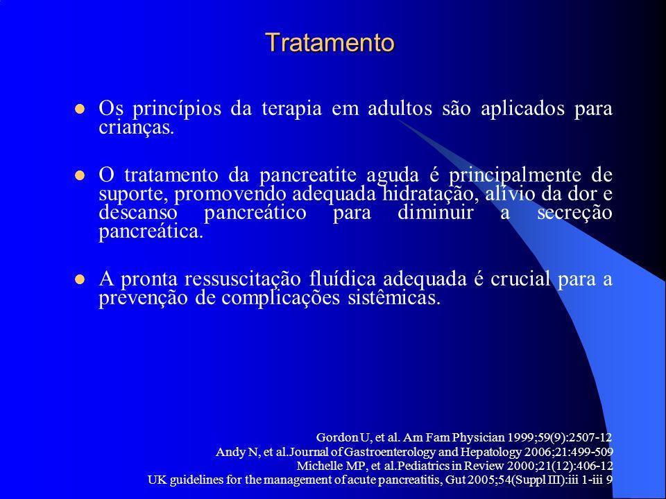 Tratamento Os princípios da terapia em adultos são aplicados para crianças.