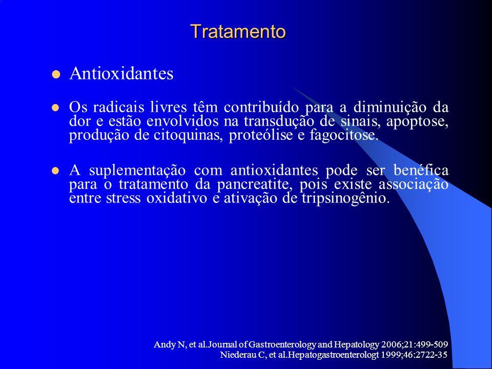 Tratamento Antioxidantes