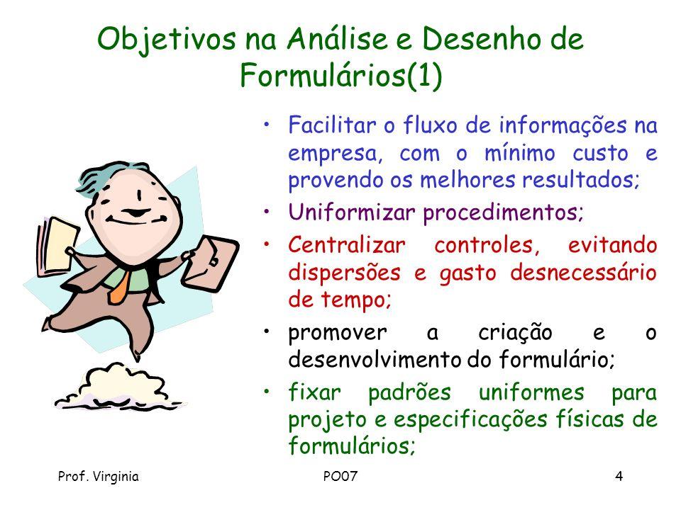 Objetivos na Análise e Desenho de Formulários(1)