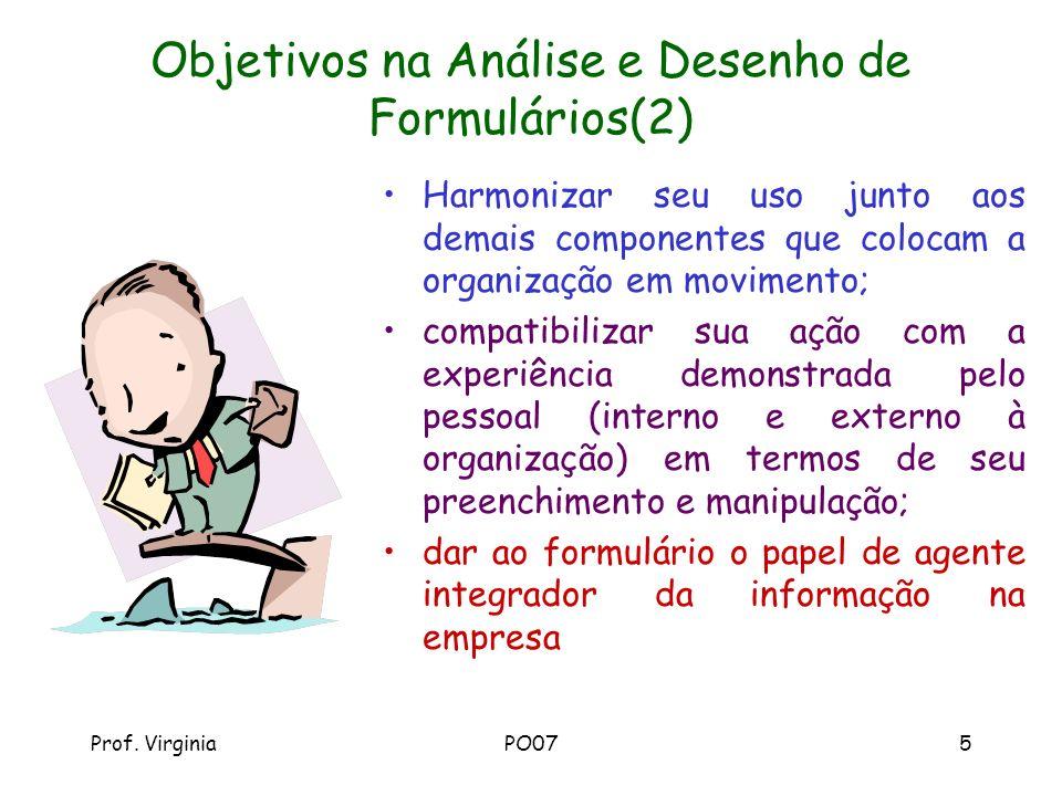 Objetivos na Análise e Desenho de Formulários(2)