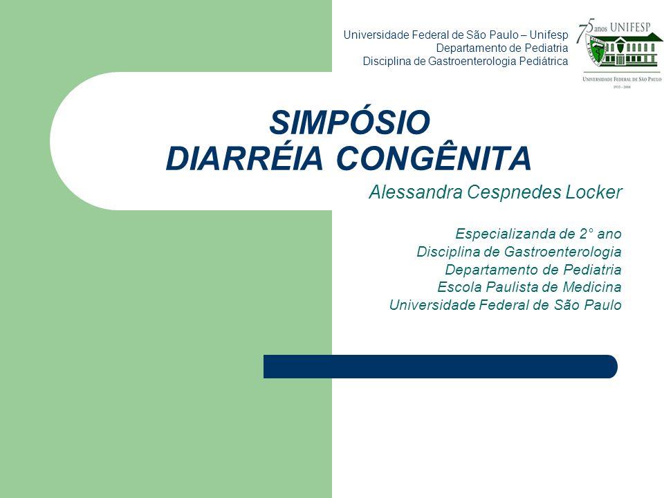 SIMPÓSIO DIARRÉIA CONGÊNITA