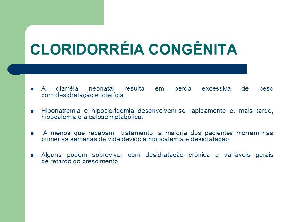 CLORIDORRÉIA CONGÊNITA