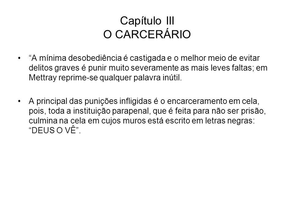 Capítulo III O CARCERÁRIO