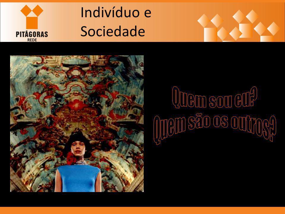 Indivíduo e Sociedade Quem sou eu Quem são os outros
