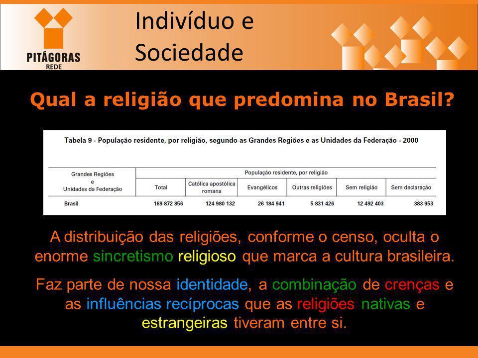 Qual a religião que predomina no Brasil
