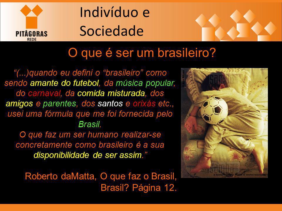 O que é ser um brasileiro