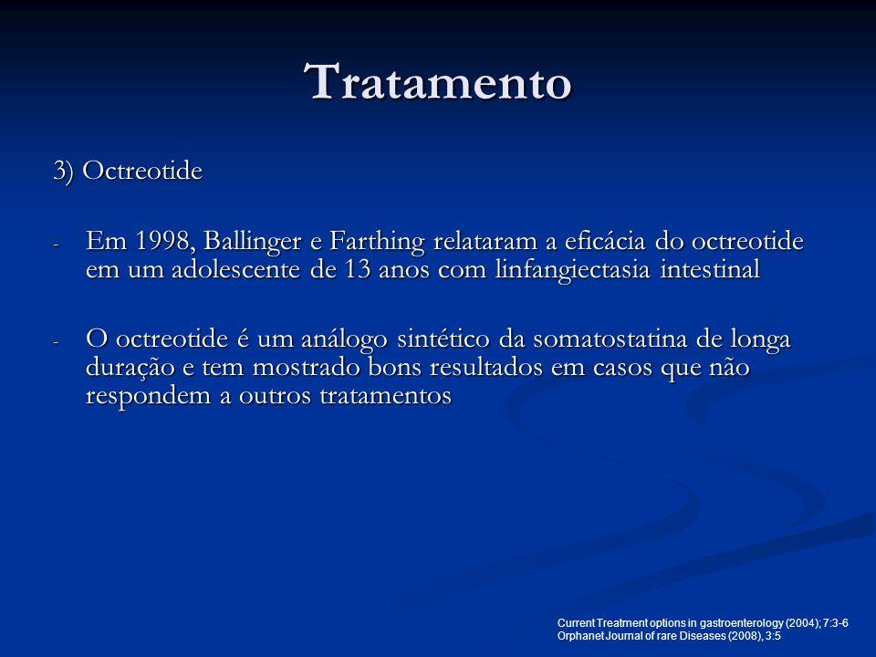 Tratamento 3) Octreotide