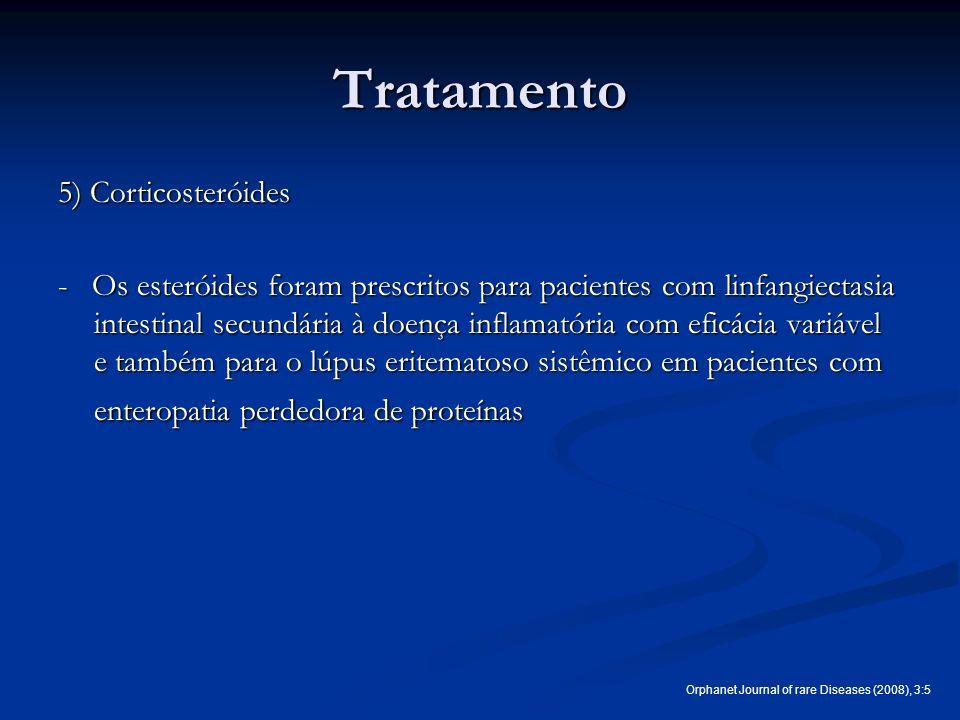 Tratamento 5) Corticosteróides