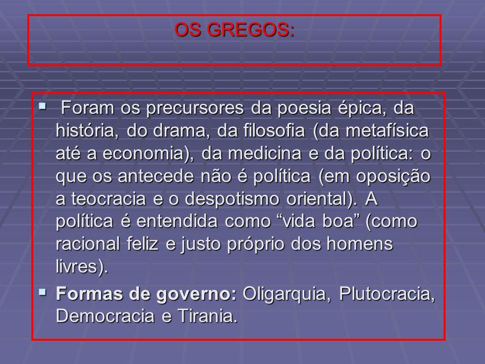 OS GREGOS: