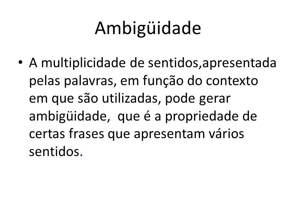 Ambigüidade