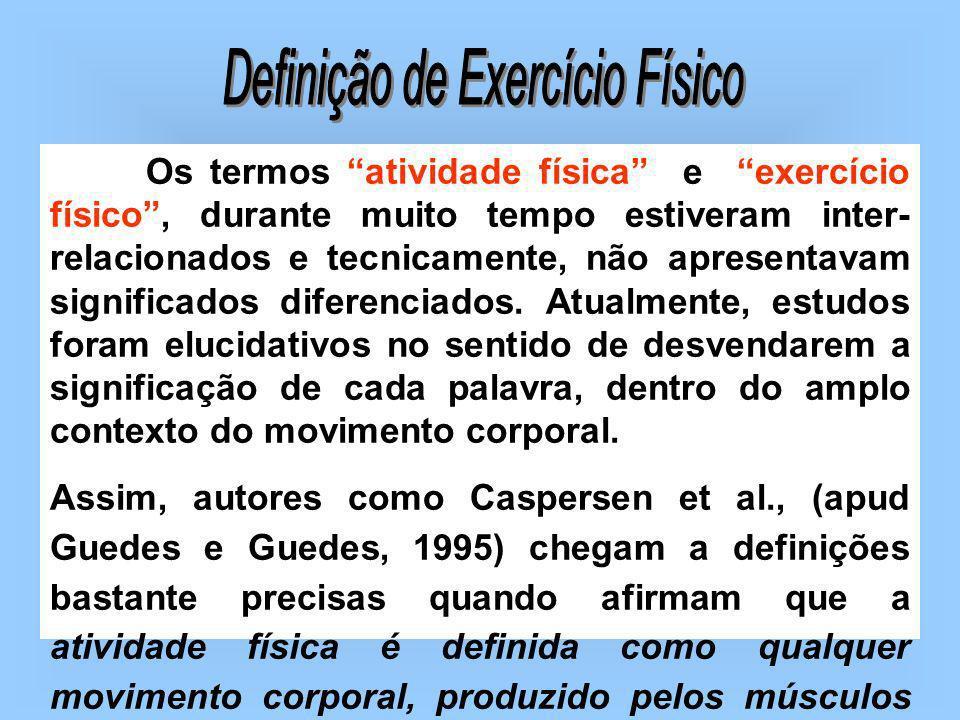 Definição de Exercício Físico