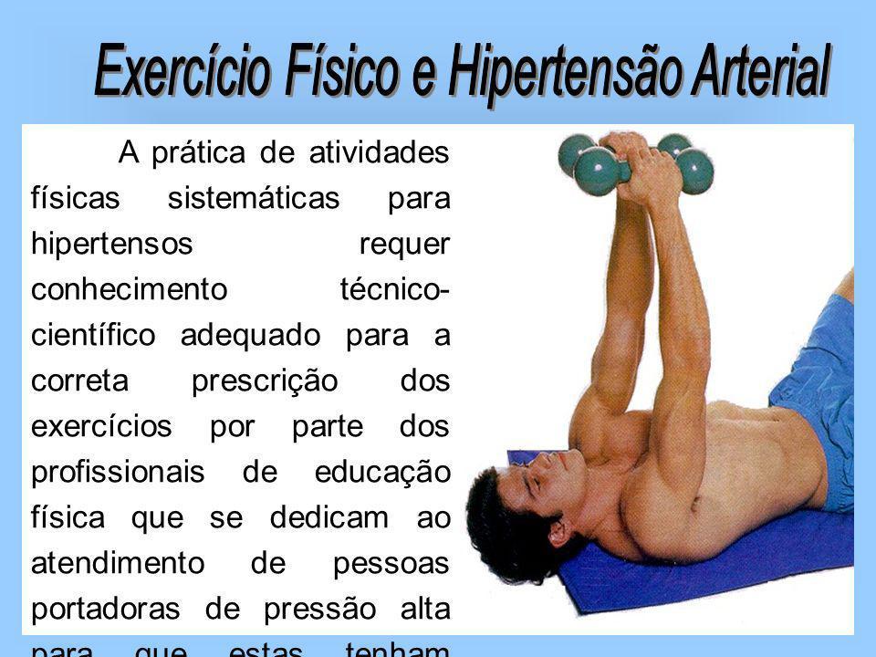 Exercício Físico e Hipertensão Arterial