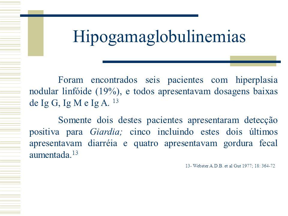 Hipogamaglobulinemias