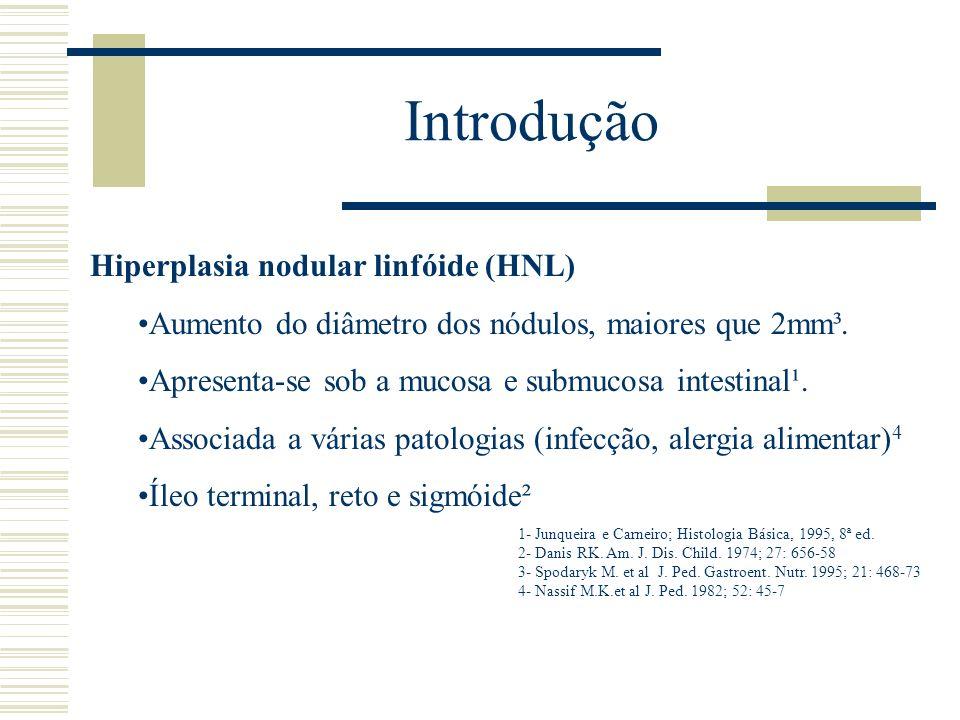 Introdução Hiperplasia nodular linfóide (HNL)
