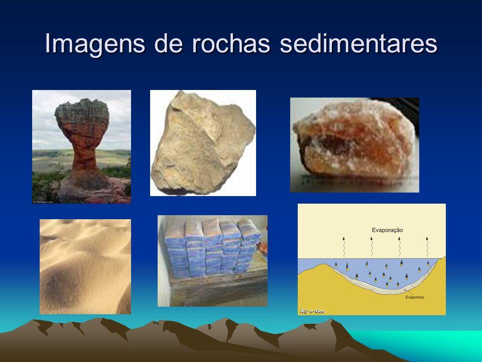 Imagens de rochas sedimentares