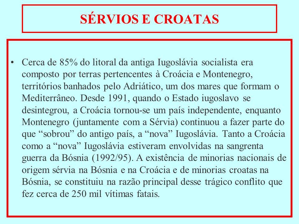 SÉRVIOS E CROATAS
