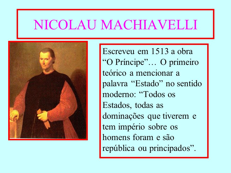 NICOLAU MACHIAVELLI