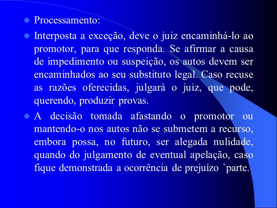 Processamento: