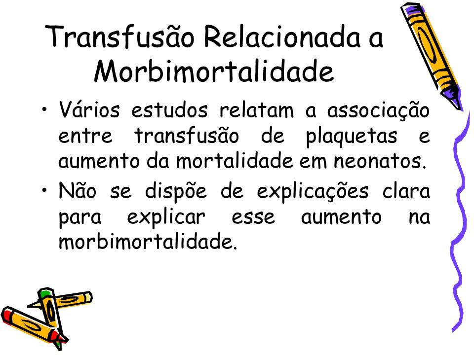 Transfusão Relacionada a Morbimortalidade
