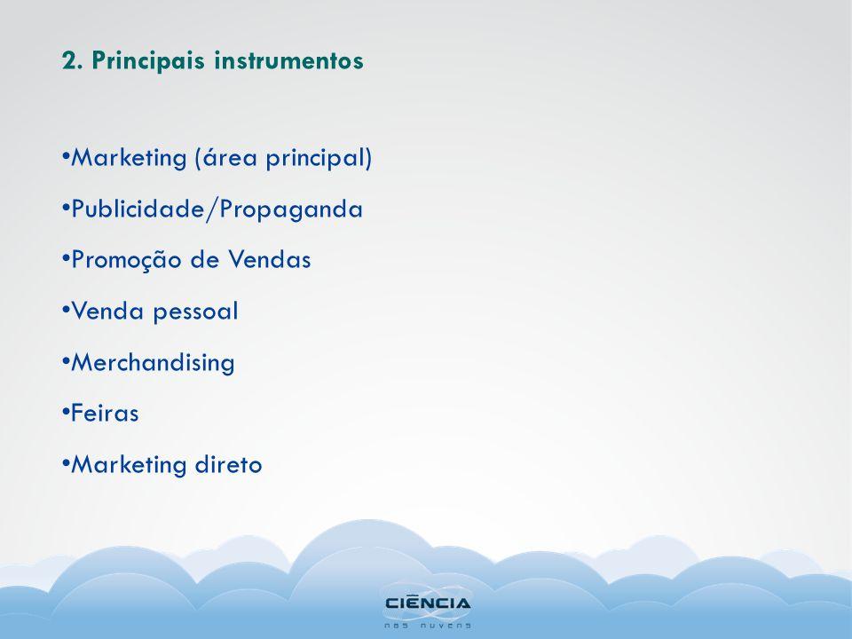 2. Principais instrumentos