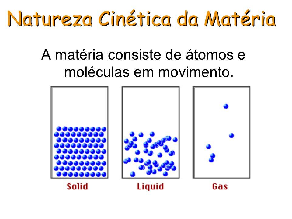 Natureza Cinética da Matéria