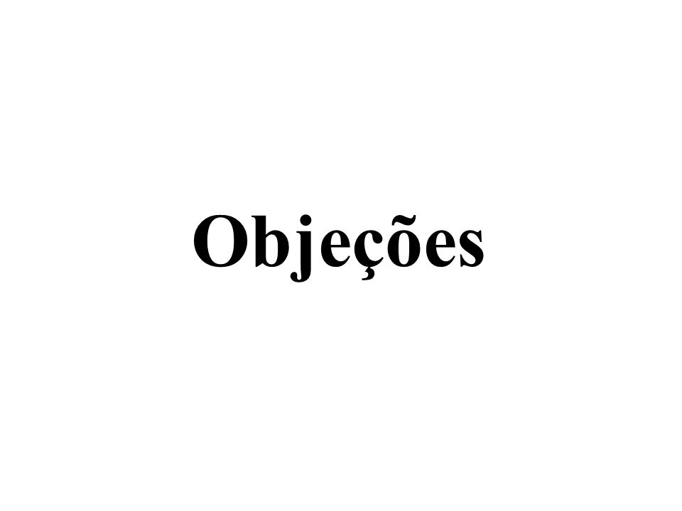 Objeções