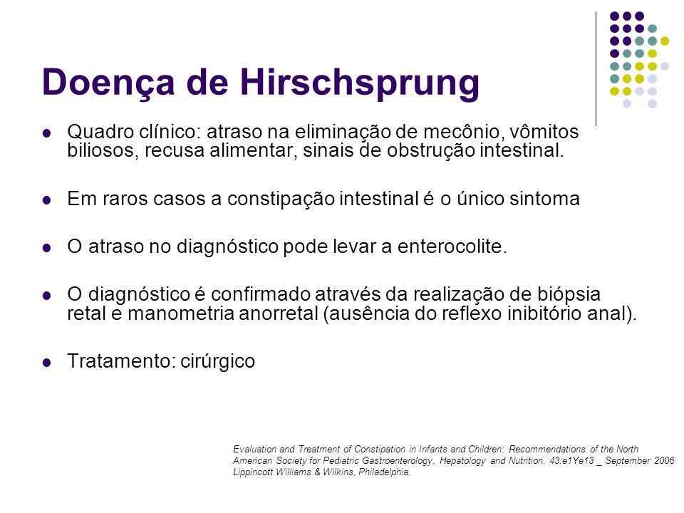 Doença de Hirschsprung