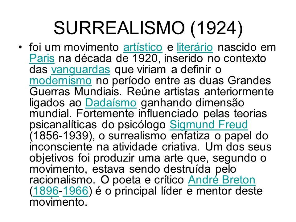 SURREALISMO (1924)