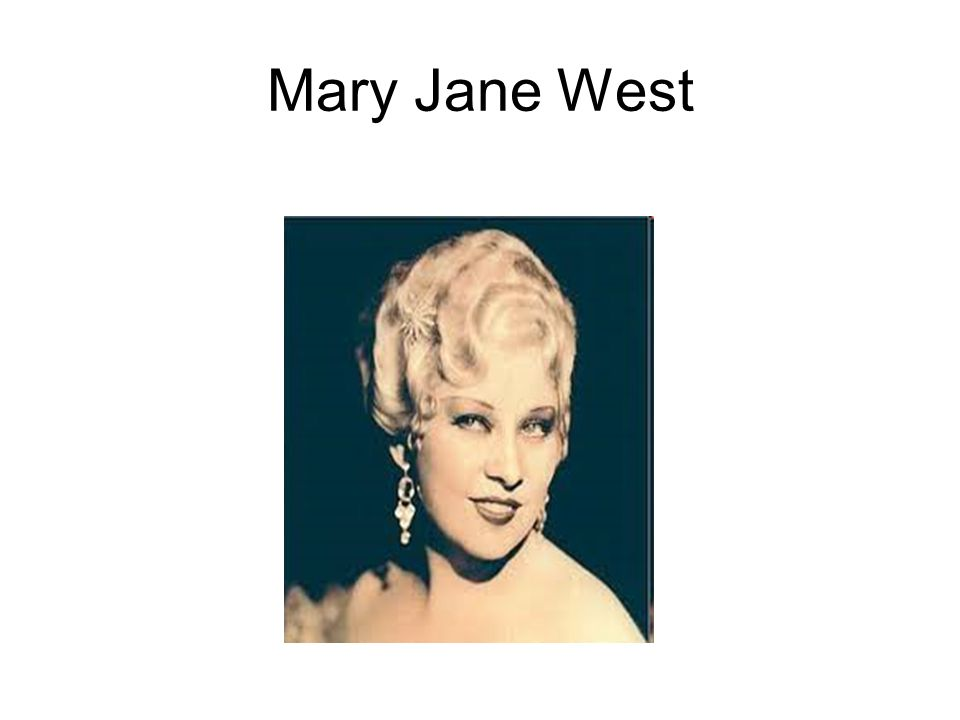 Mary Jane West